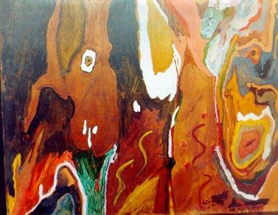 Pintura de Clarice Lispector