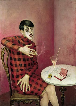 Portrait of the Journalist Sylvia von Harden, 1926, de Otto Dix